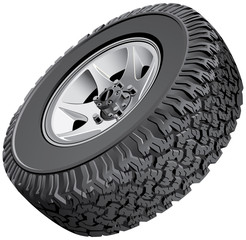 Offroad vehicles wheel