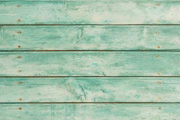 Holz Bretter Farbe Türkis Mint Hintergrund Textur