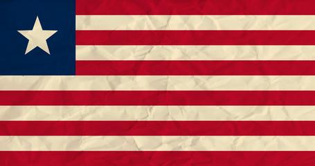 Liberia  paper  flag