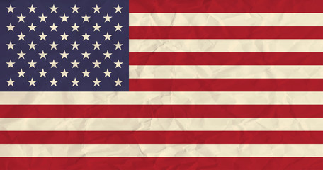 United States of America  paper  flag