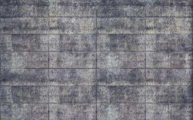 Old rough concrete tiles wall texture