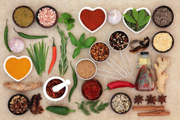 Herb and Spice Food Seasoning