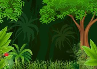 Illustration of beautiful natural background