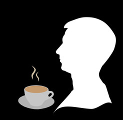 Coffee and man
