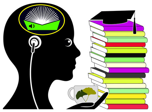 Audiobooks for Students. Relaxed Exam Preparation by listening to digital Audiobooks
