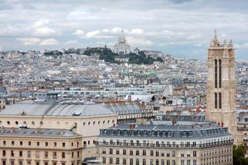 Paris, panoramic view - France