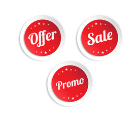 Offer, Sale & Promo Stickers