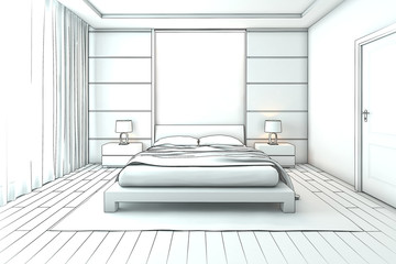 Search photos by darina1761 for 3d bedroom drawing