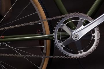 Vintage bicycle crank