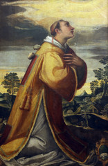 Andrea Vicentino: St. Stephen Martyr, Old Masters Collection, Croatian Academy of Sciences in Zagreb, Croatia
