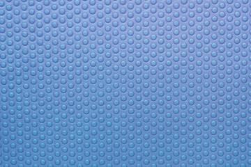 Blue plastic texture.