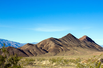 Death Valley National Park in spring