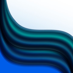 Abstract colorful waves. Vector illustration. Eps 10