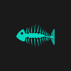 icon of fishbone