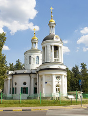 Moscow, orthodox church