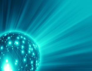 blue glow network