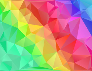 crumpled polygonal background