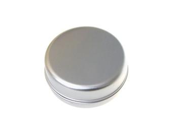 Round metal box