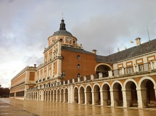 Palace in Aranjuez - Madrid - Spain