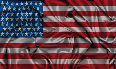 Usa,Flag;United States Of America,EEUU,background, backdrop,cloth, christmas, elegant, fabric, , luxurious, luxury, material, ripple, satin, silk, silky, textile, texture, wave, wavy