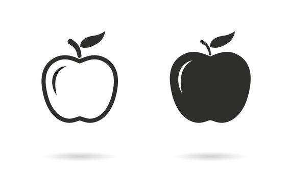 Apple - vector icon.