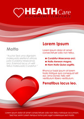 Health care document template