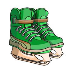 doodle ice skates