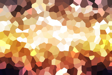 Colorful mosaic background for design work