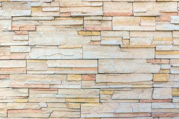 Rock wall interior texture, Modern brick wall.