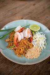 Pad Thai prawn.
