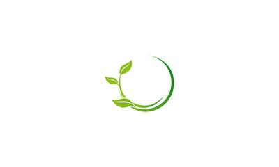 green leaf business logo