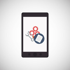 Smartphone and technical service  design