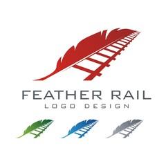 Rail Logo, Feather Logo