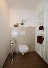 Kleines renoviertes Badezimmer ( barrierefrei)
