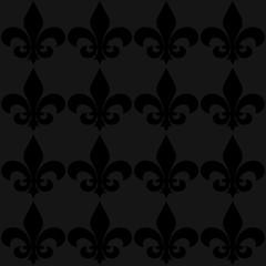 Seamless fleur de lis background
