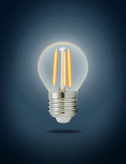 LED filament light bulb (E27)