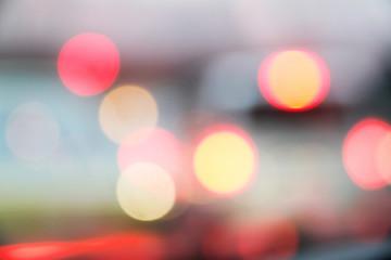 丸い光の背景