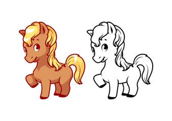 Cute little pony.