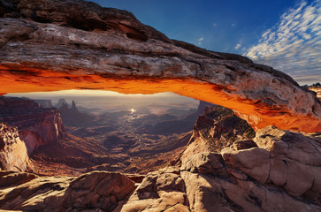 Wall Mural - Mesa Arch at sunrise