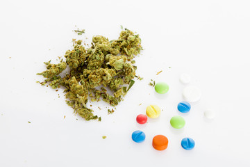 Illegal drugs. Narcotic drugs
