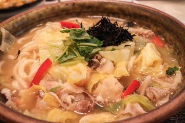 nagasaki chanpon(noodle) JAPAN