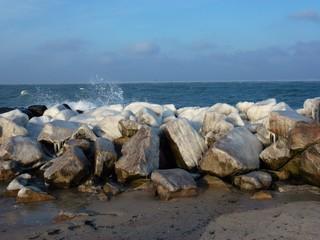 Küste vor Kühlungsborn im Winter