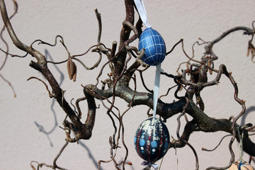 Decorative easter eggs