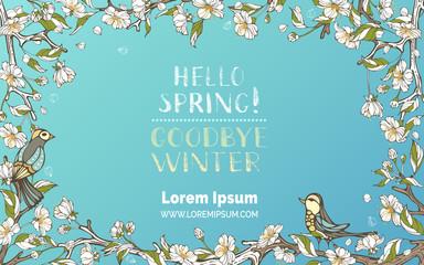 Hello Spring! Goodbye Winter!