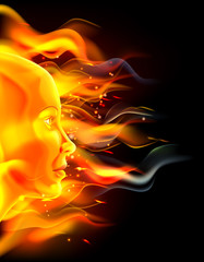 Fire Face Concept