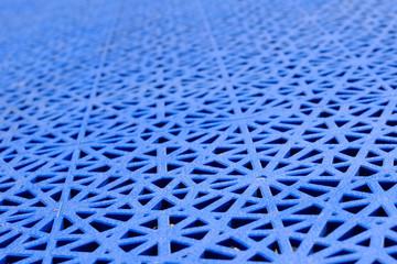 Blue basketball court texture