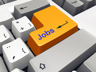 Computer keyboard with Jobs key