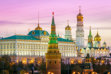 Printed kitchen splashbacks Moscow Tower of the Moscow Kremlin