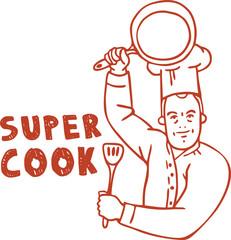 Super cook logo