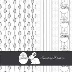 set seamless pattern for Esstern. Hand drawn design for wrapping